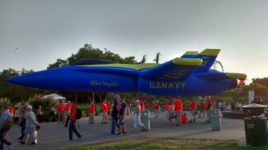 Blue Angels Jet Parade Balloon