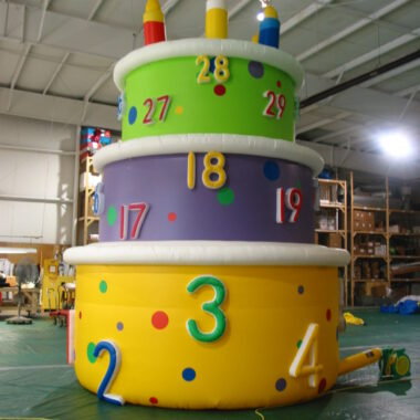 Birthday Cake Parade Balloon, 20'