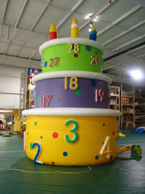 Birthday Cake Parade Balloon, 20'