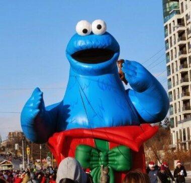 Cookie Monster Parade Balloon