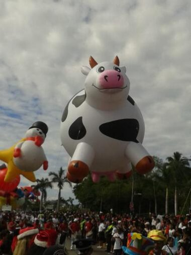 Cow Parade Balloon