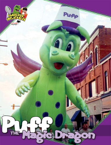 Puff the Magic Dragon Parade Balloon, 45'