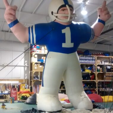 Football Player Parade Balloon
