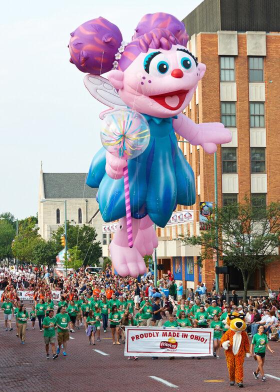 Abby Cadabby Parade Balloon