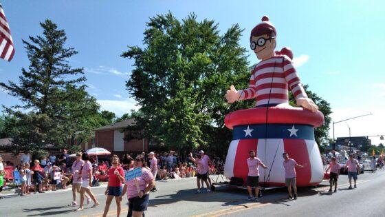 Where's Waldo Parade Float