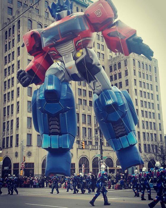 Optimus Prime Parade Balloon