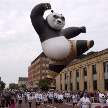 Kung Fu Panda Parade Balloon