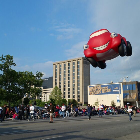 Kyle the Konvertible Parade Balloon