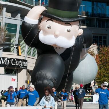 Mr Monopoly Parade Balloon