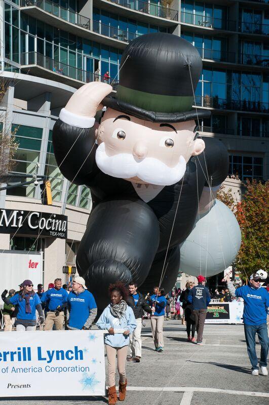Mr Monopoly Parade Balloon
