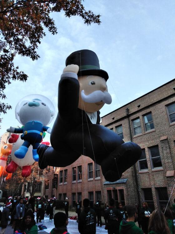 Mr Monopoly Parade Balloon 3