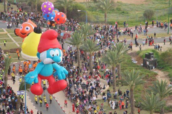 Papa Smurf in Israel