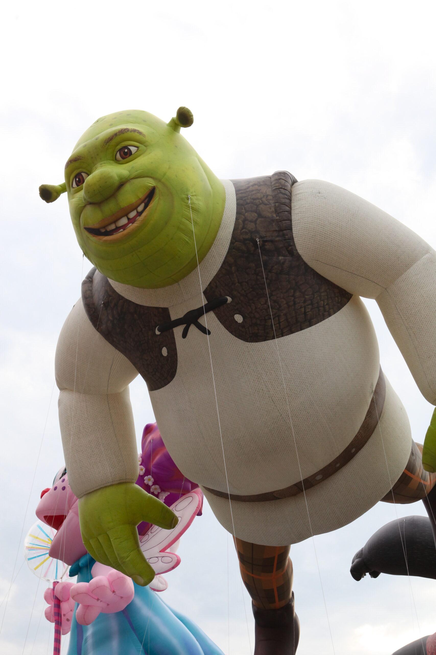 Shrek Close up Parade Balloon