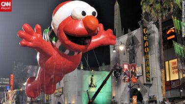 Santa Elmo Parade Float