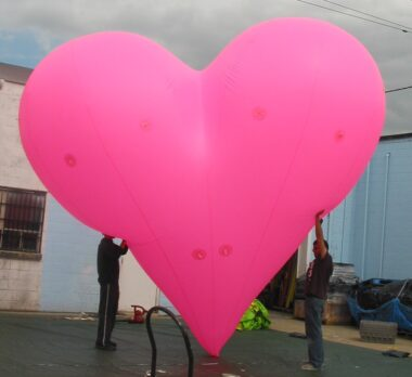 Heart Pink Parade Balloon