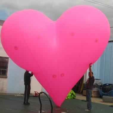 Heart Pink Parade Balloon