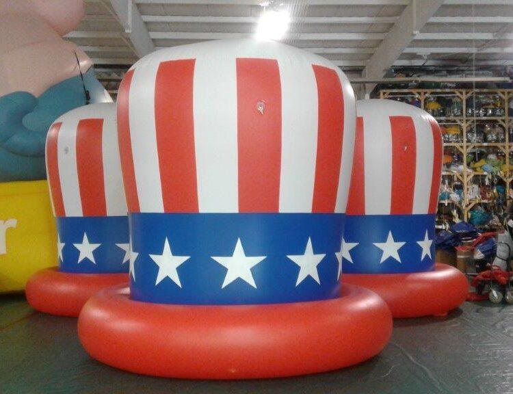Patriotic Hat Parade Balloon