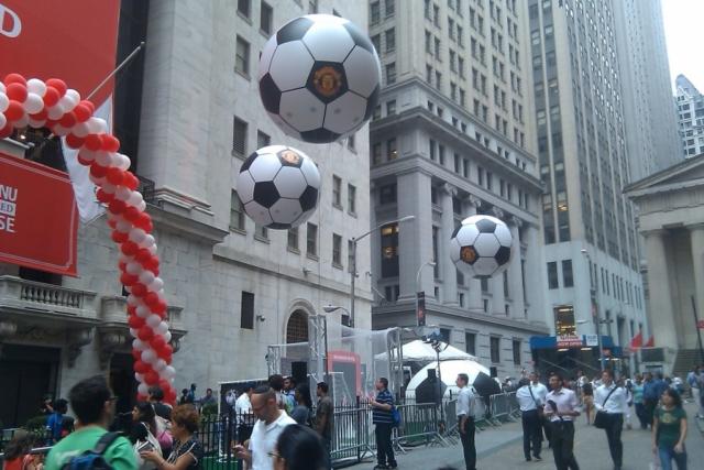 Manchester United Soccer Balls