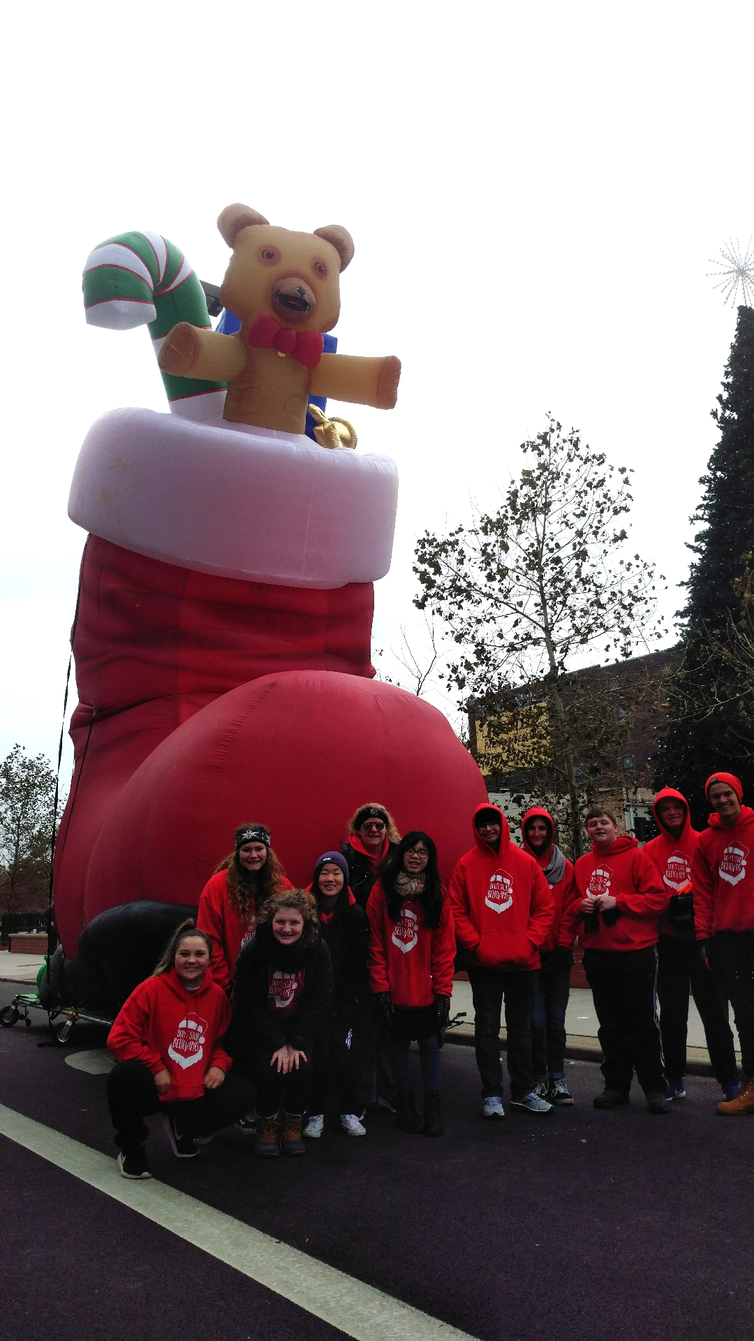 Santas Boot Parade Balloon