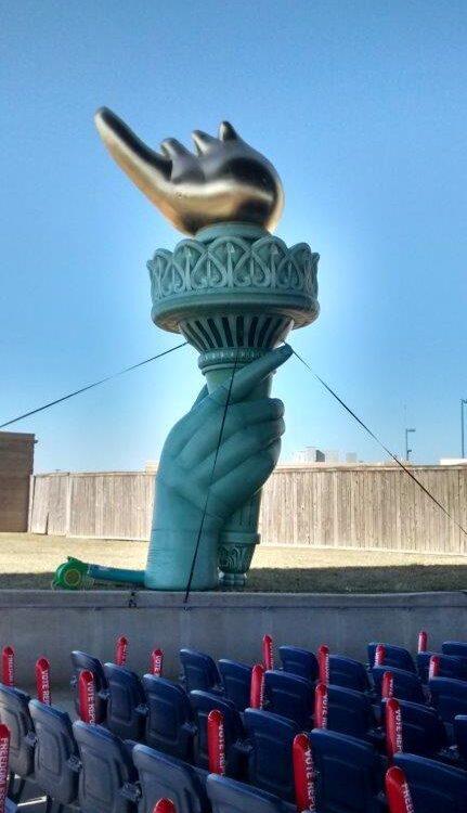 Liberty Torch Parade Balloon