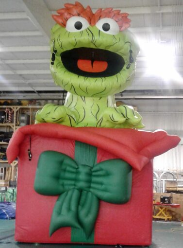Oscar the Grouch Parade Balloon