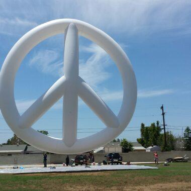 Peace Symbol Parade Balloon