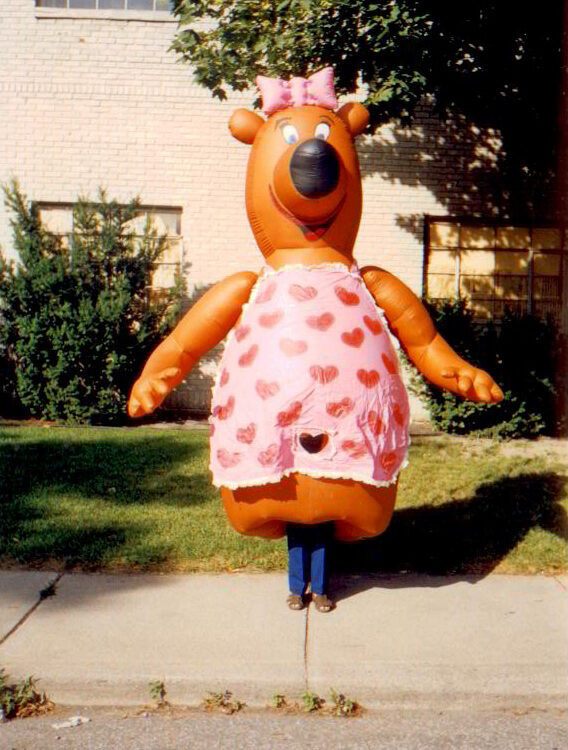 Mama Bear Inflatable Costume