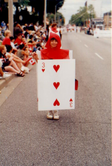 Playing Card Inflatable Costume