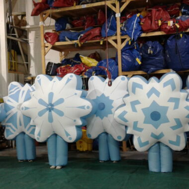 Snowflake Inflatable Costume