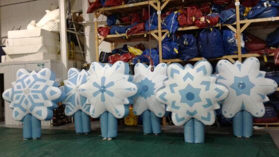 Snowflake Inflatable Costume